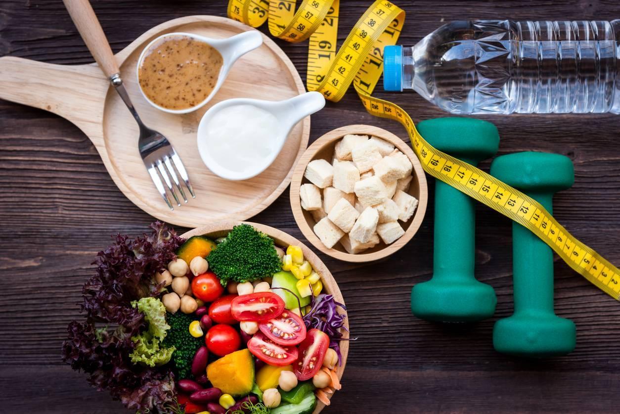 régime et sport pour perdre du poids