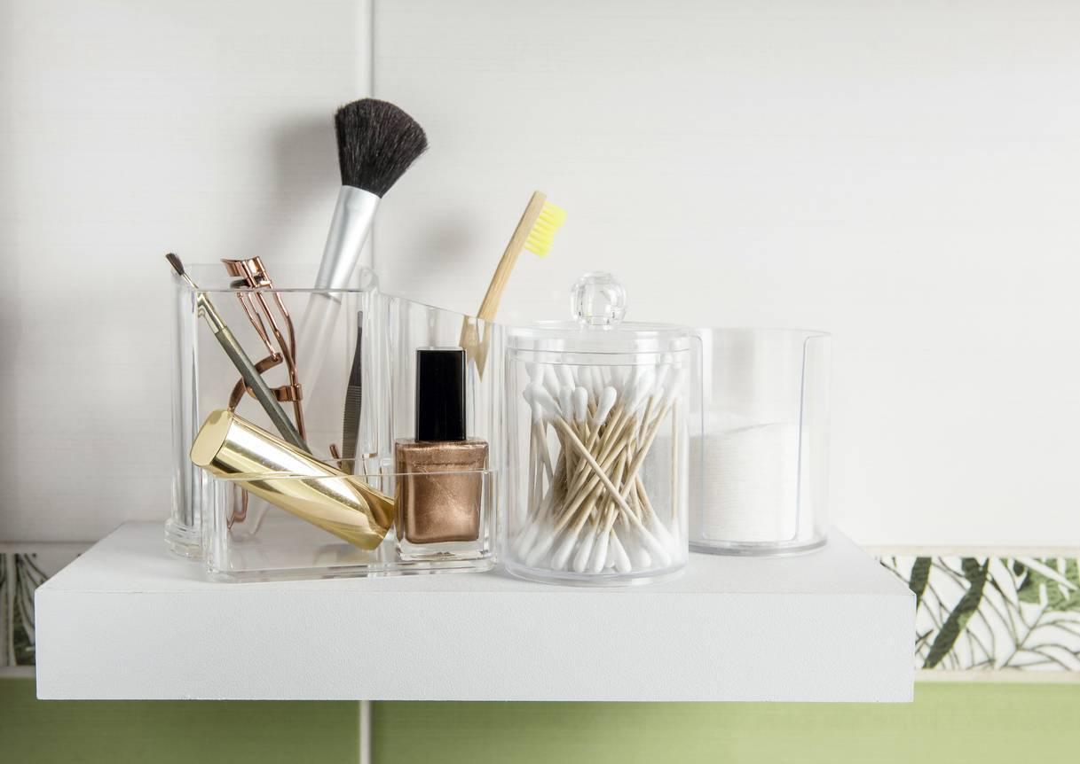 rangement design maquillage