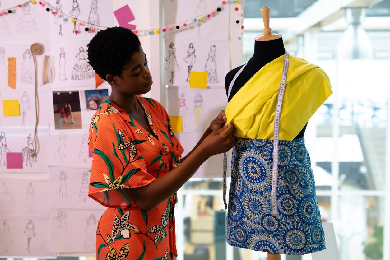 vêtements africains colorés