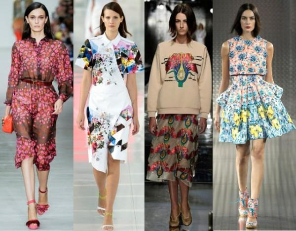 mode-printemps-été-imprimés-floraux