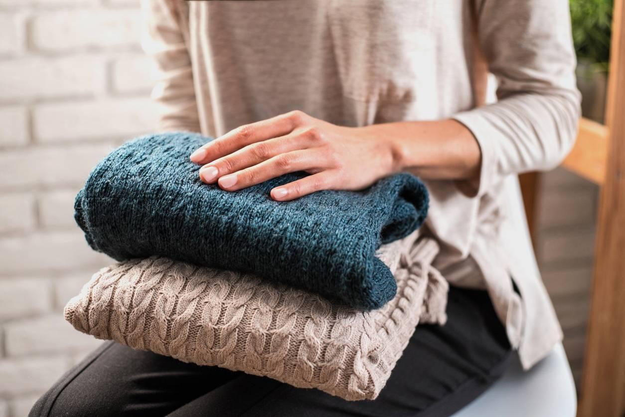 Un pull marin en laine