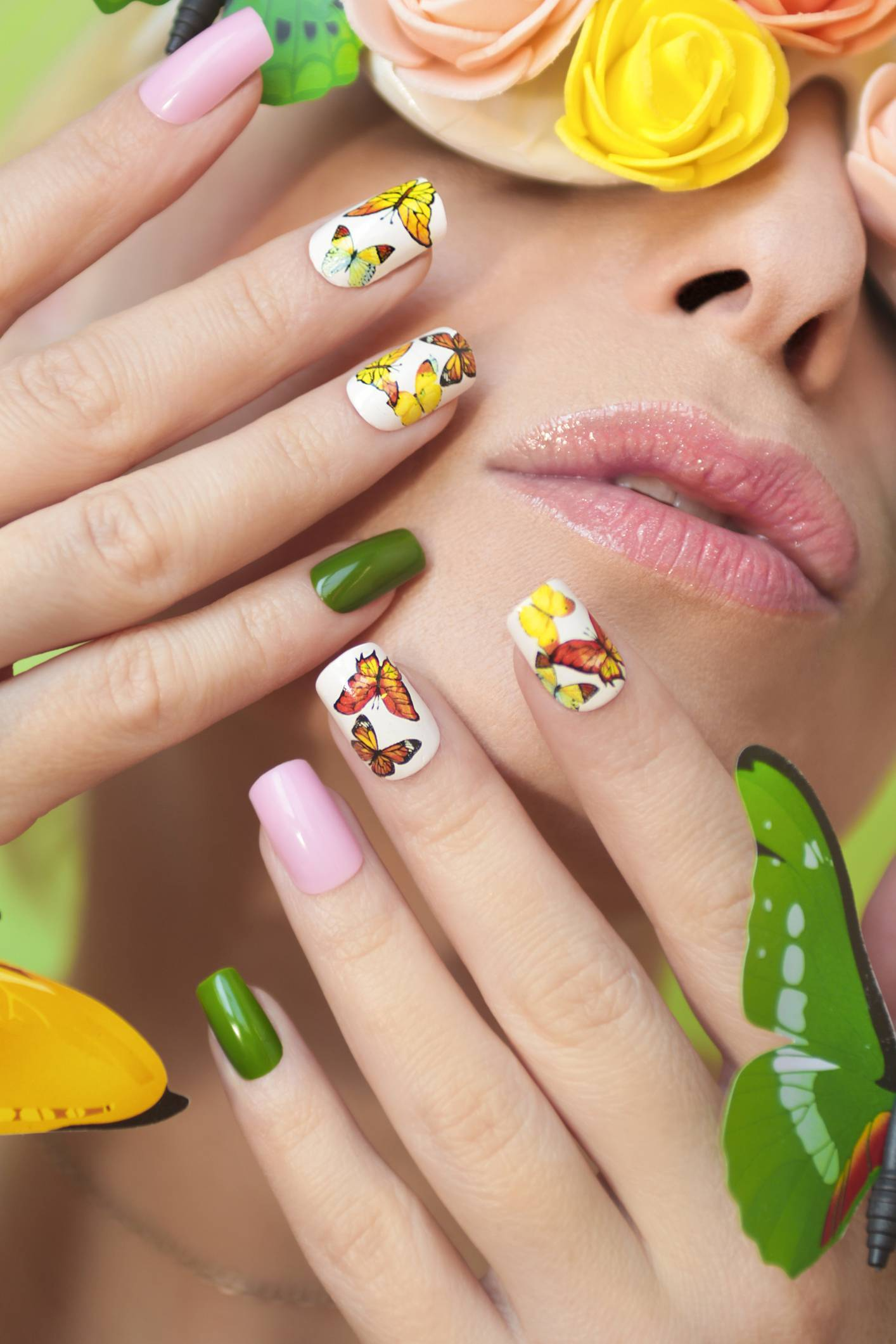 manucure stickers ongles